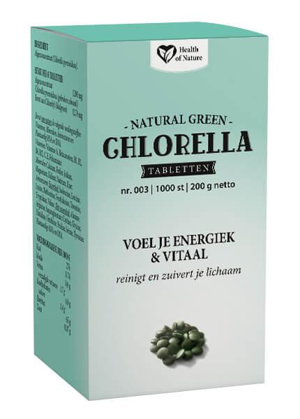 Natural Green Chlorella