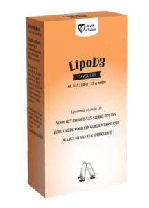 Health Of Nature Voedingssupplementen LipoD3 product